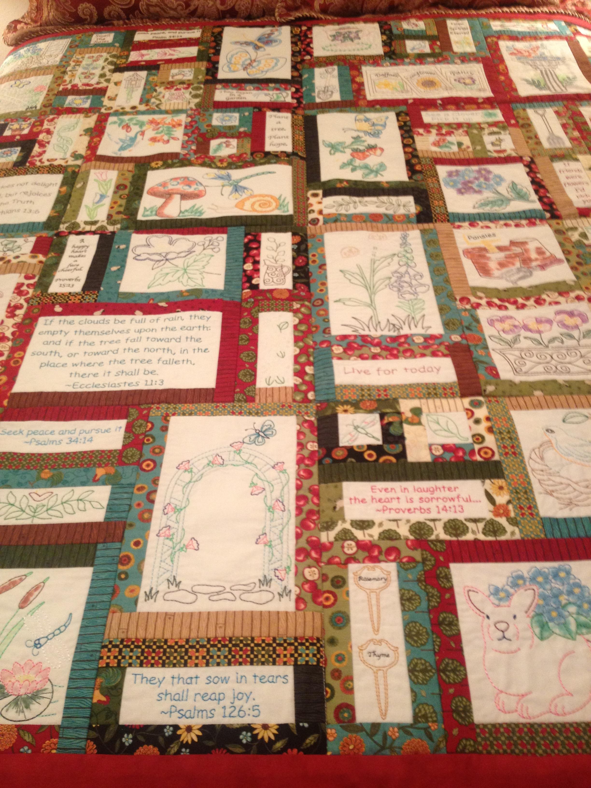 Prayer Garden Quilt