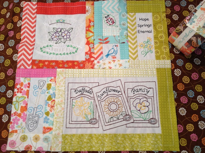 Prayer Garden Quilt design from AnitaGoodesignonline.com