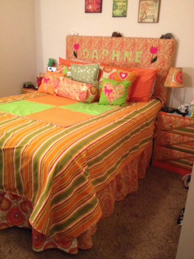 Duvet Cover and Bed Skirt