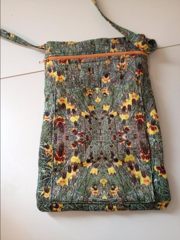Corn Flower ZipperBag