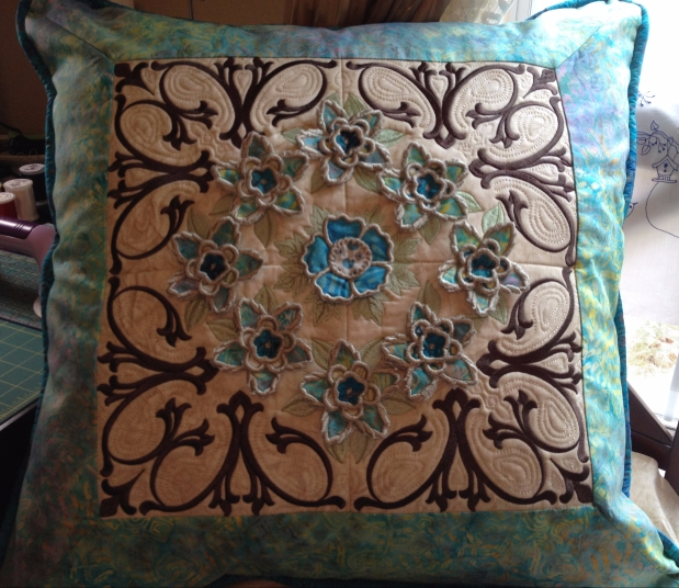 Pillow Shams for Garden Gate Quilt