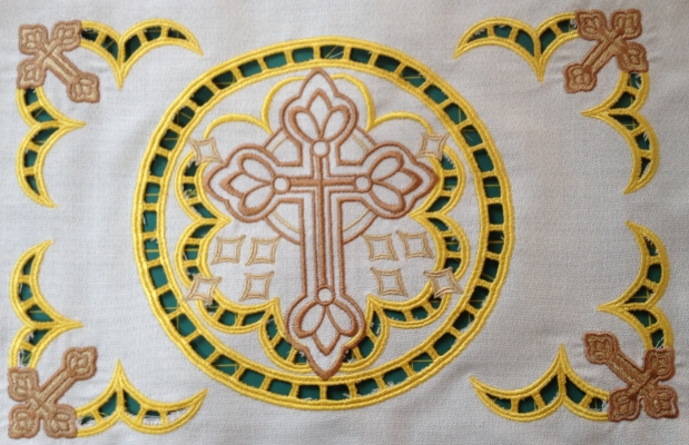 Vintage Christian Cutwork
